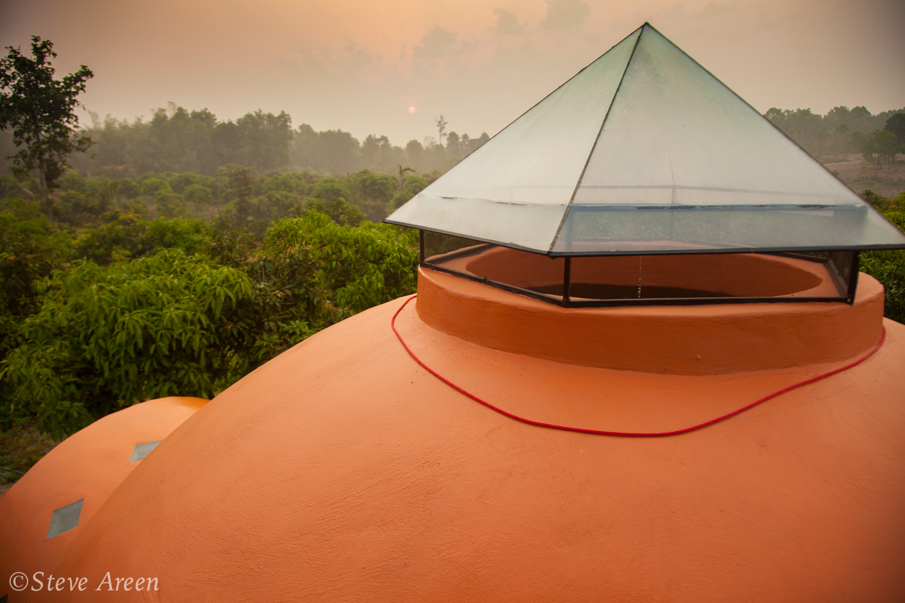 steve areen thailand dome home